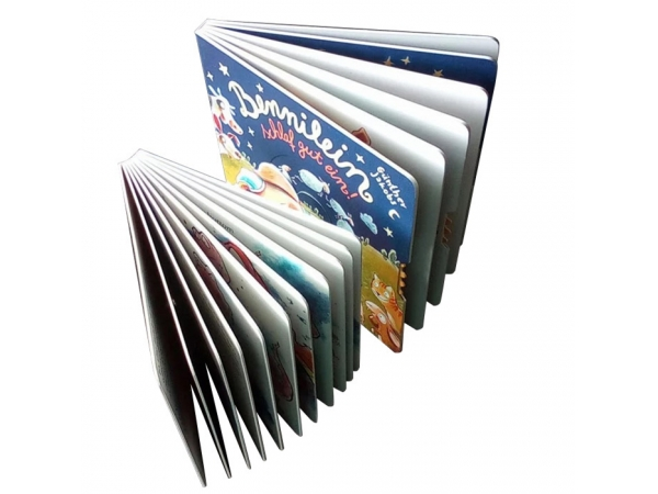 Board book binding process