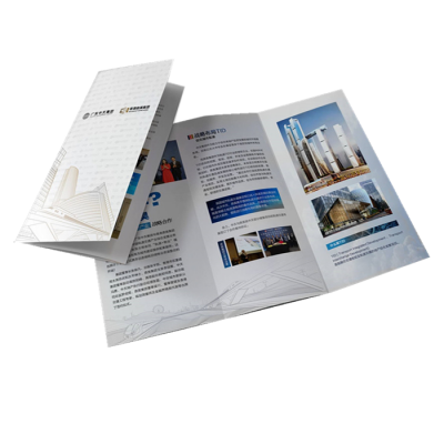 custom company advertise folder printing