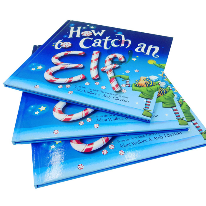 overseas high quality hardcover colorful children story book printing