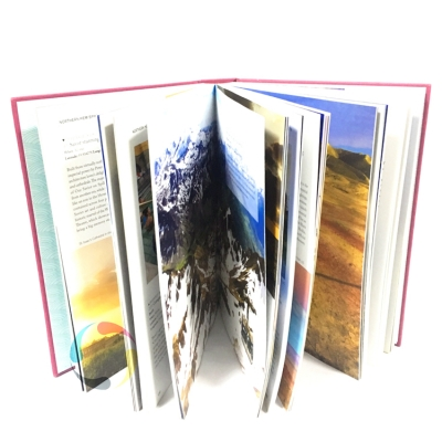 hard cover full color art coffee table photo book printing