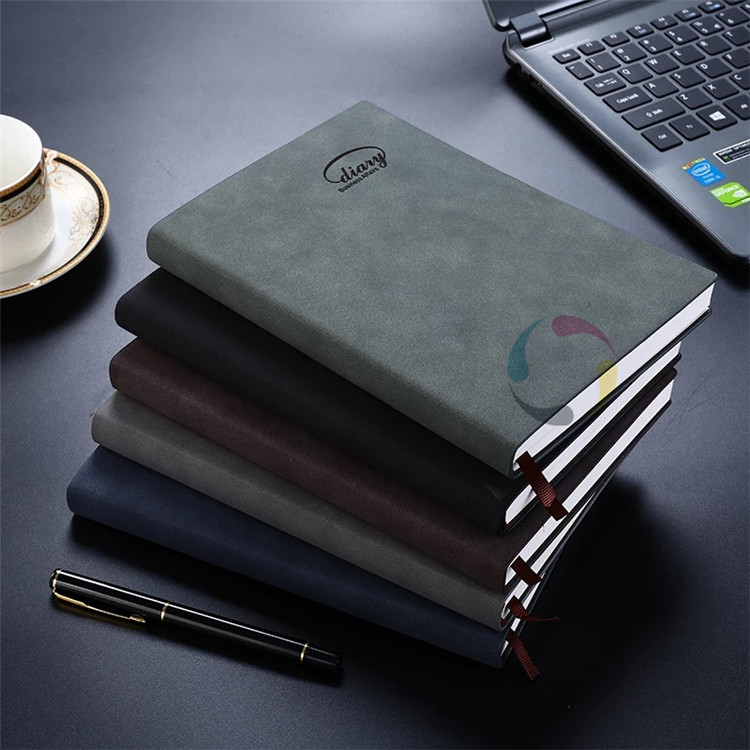 custom size wholesale high quality work notebook printing